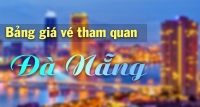 Bảng giá vé Tham quan Đà Nẵng 2018