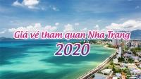 Bảng giá vé tham quan Nha Trang 2020